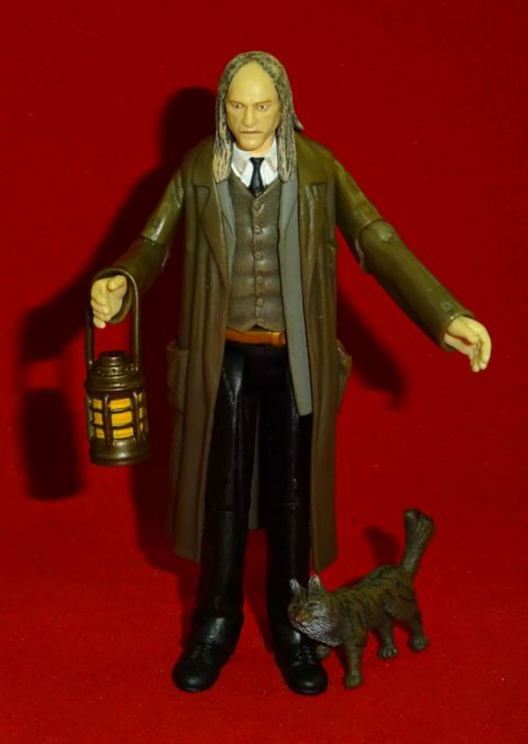 Harry Potter and the Order of the Phoenix: Argus Filch - Complete Loose Action Figure